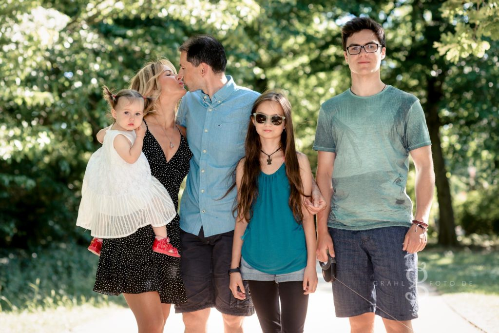 Familienshooting im Sommer