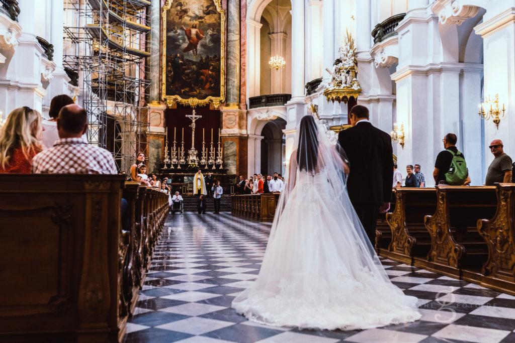 Hochzeit in der Hofkirche Dresden mit Cordula Maria Grahl