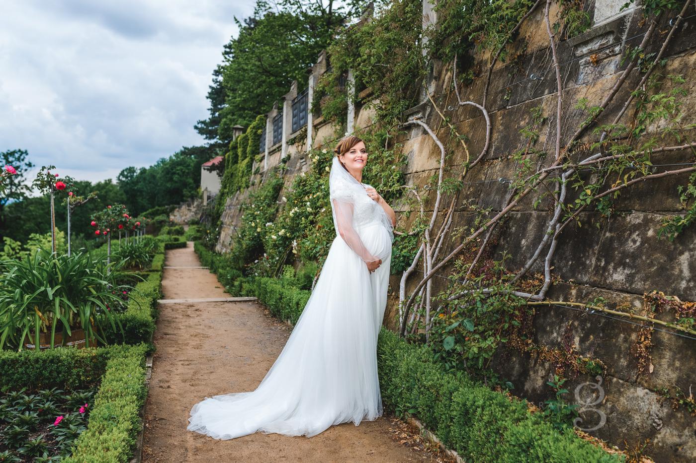 Grahlfoto Hochzeit Fotobeispiel in der Originalfarbe