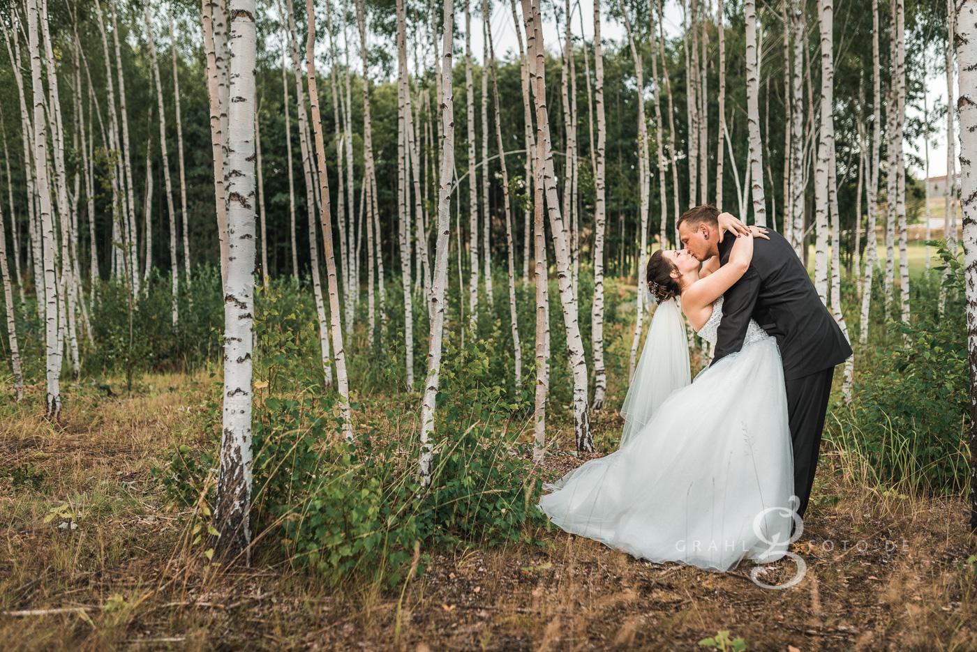 Grahlfoto Hochzeit Fotobeispiel mit Filter