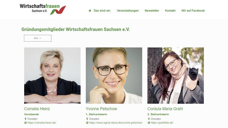 2. Stellvertreterin Vorstand der Wirtschaftsfrauen Sachsen e.V.
