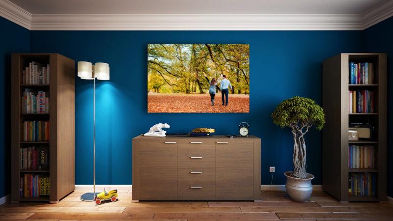 Fotografie gross an der Wand Wohnzimmer Gestaltung by Cordula Maria Grahl grahlfoto.de